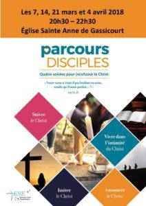 Parcours disciple flyers A5